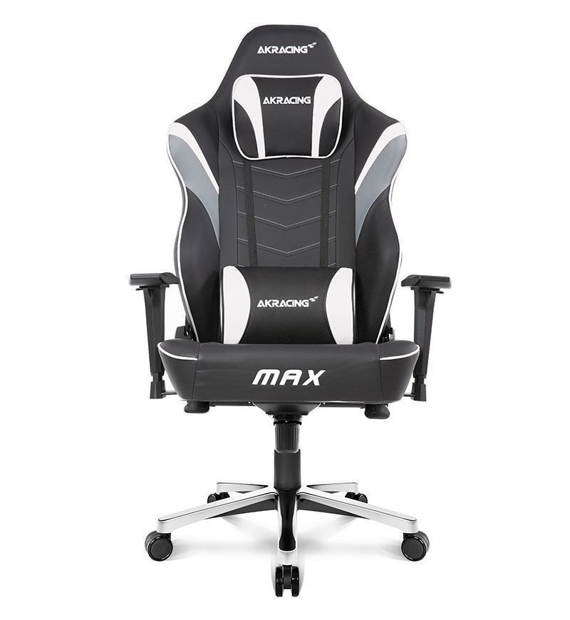 AKRacing Master Series MAX PU Leather Gaming Chair — White