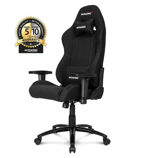 AKRacing Core Series EX Gaming Chair — Black