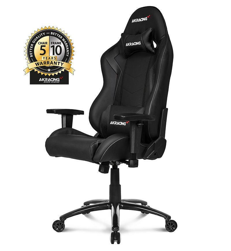 AKRacing Core Series SX Gaming Chair — Black