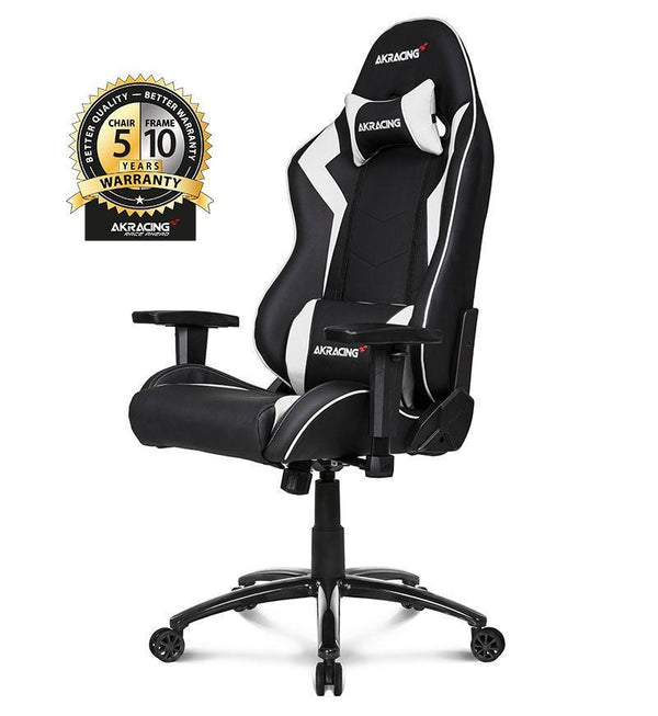 AKRacing Core Series SX Gaming Chair — White