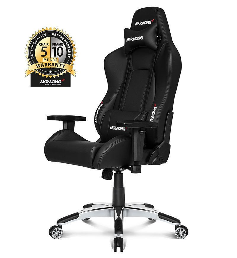 AKRacing Master Series Premium Gaming Chair — Black