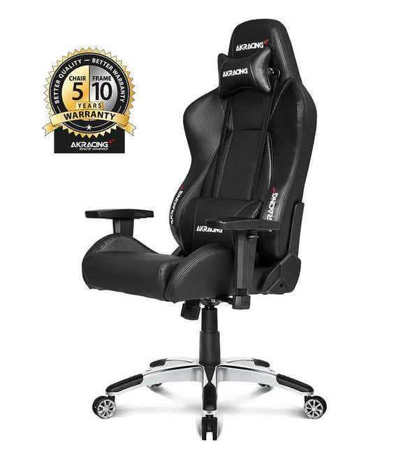 AKRacing Master Series Premium Gaming Chair — Carbon