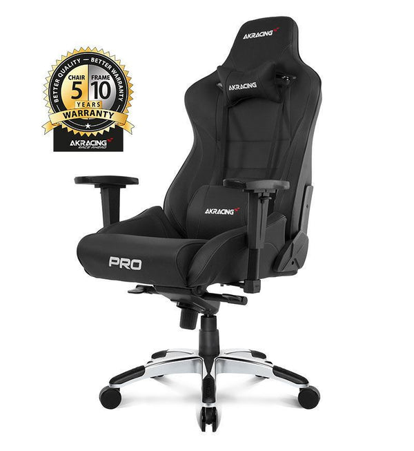 AKRacing Master Series Pro Gaming Chair — Black