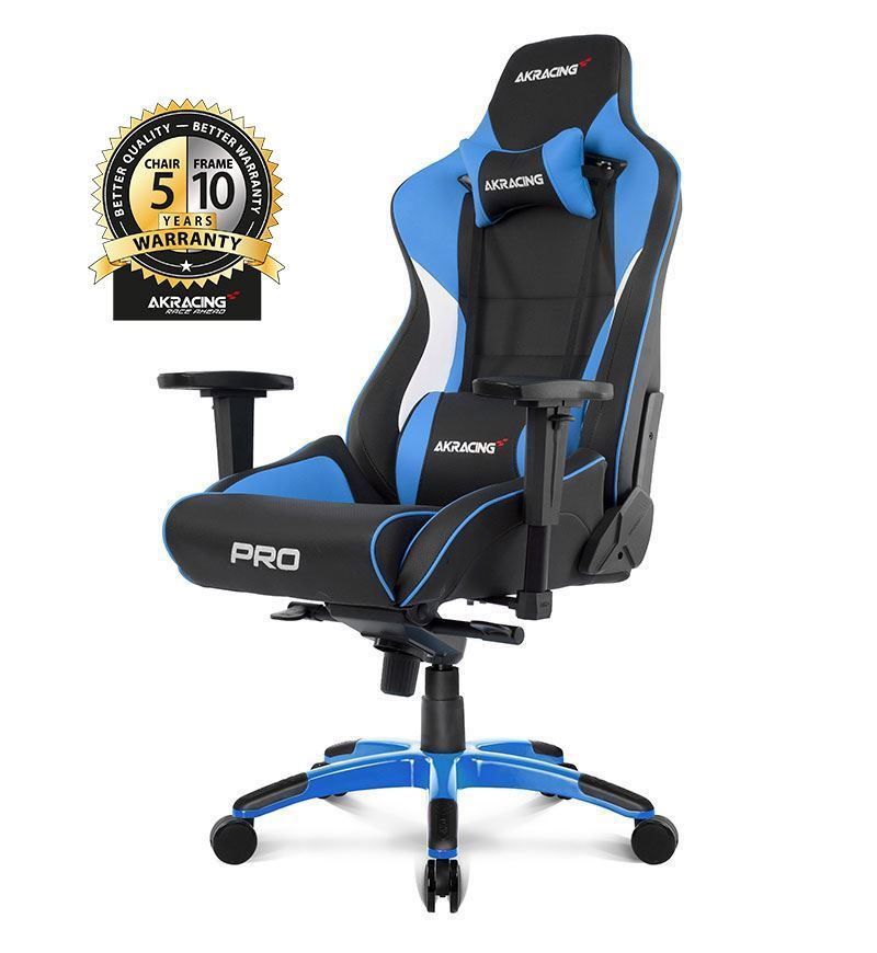 AKRacing Master Series Pro Gaming Chair — Blue