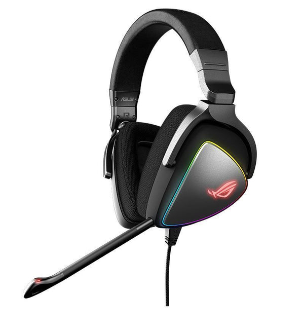 Asus ROG Delta RGB Hi-Res ESS Quad-DAC Headset - USB - PC/Mac/Mobile/PS4