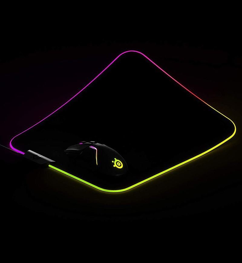 SteelSeries QcK Prism Cloth RGB Mouse Pad — Medium