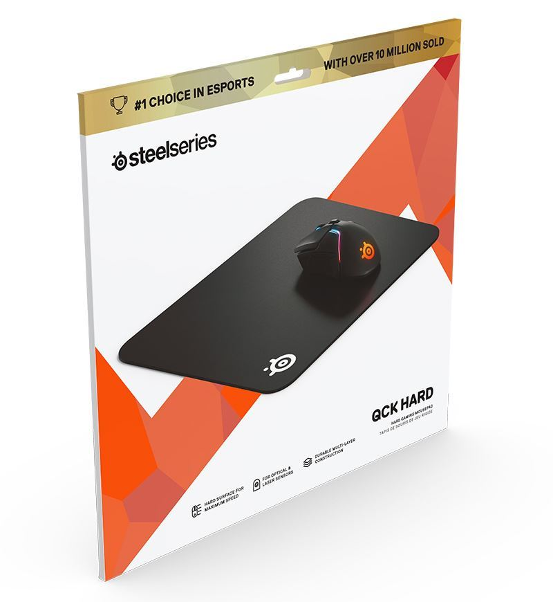 SteelSeries QcK Hard Mouse Pad — Medium