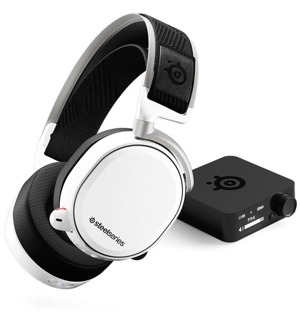 SteelSeries Arctis Pro Wireless White DTS: X v2.0 Surround PC/PS4 Headset
