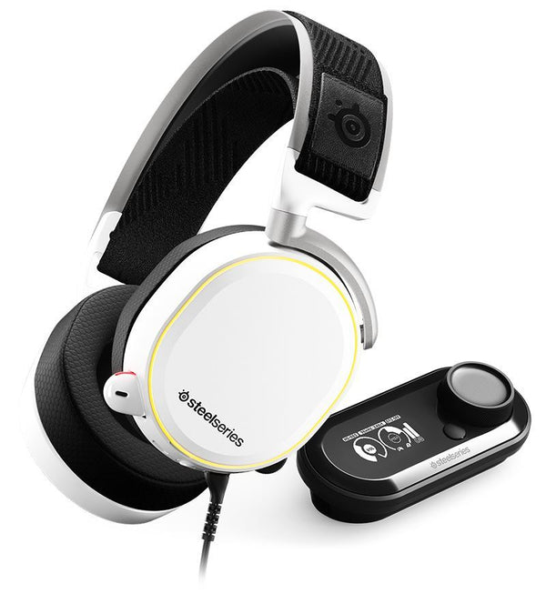 SteelSeries Arctis Pro White DTS: X v2.0 Surround Headset + GameDAC - 3.5mm Jack