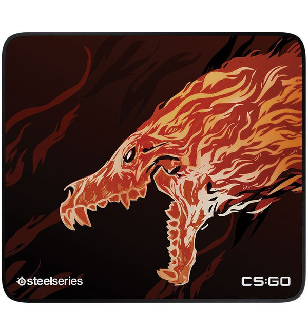 SteelSeries QcK+ Limited CS:GO Howl Edition Cloth Mouse Pad - Large