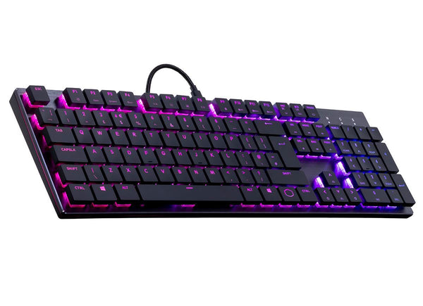 Cooler Master SK650 Low Profile RGB Mechanical Keyboard - Cherry MX Low Profile Switches