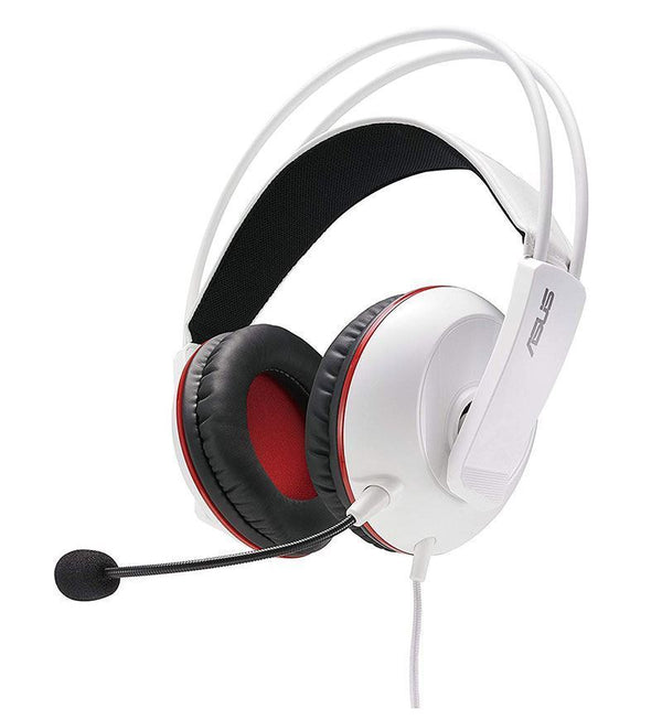 Asus Cerberus Arctic Stereo Headset — 3.5mm Jack — PC/Mac/Console/Mobile