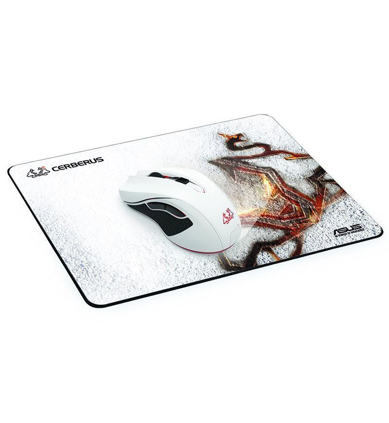 Asus Cerberus Arctic Control Cloth Mouse Pad — Medium