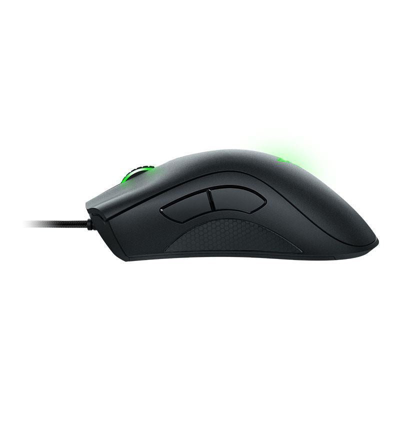 Razer Deathadder Essential 6,400 DPI Optical Mouse — Black