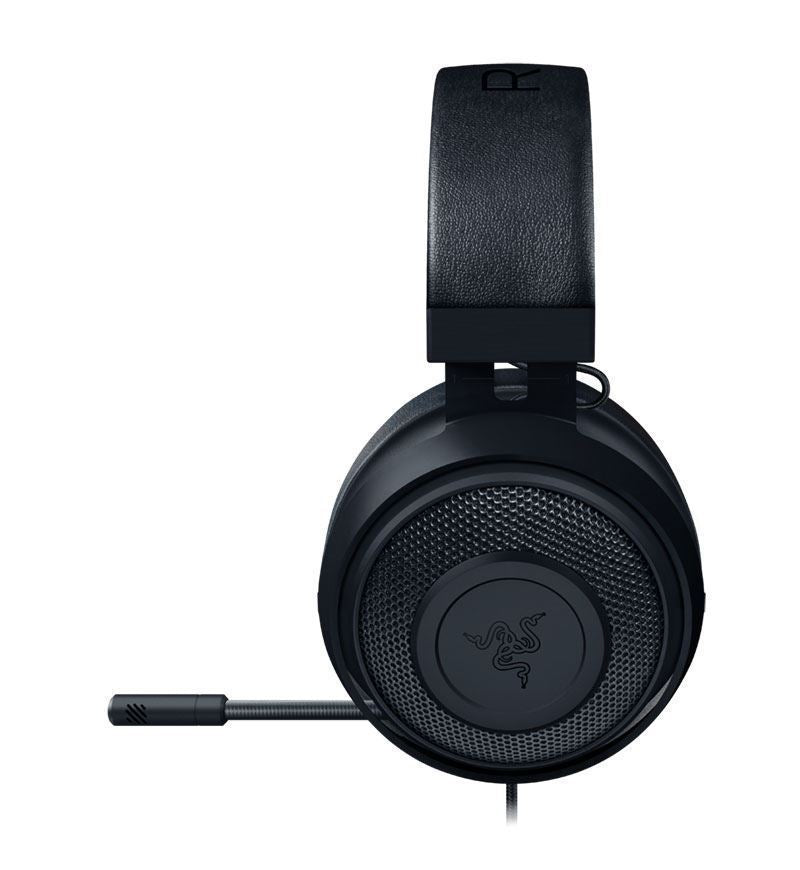 Razer Kraken Stereo Headset — 3.5mm Jack — Black — PC/Mac/Console/Mobile