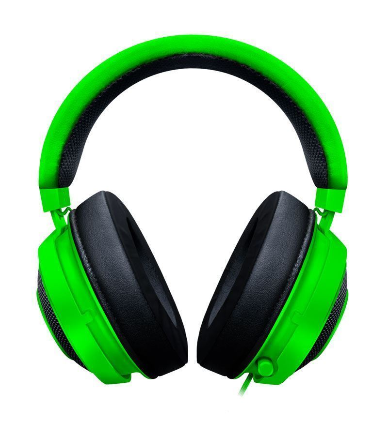 Razer Kraken Stereo Headset — 3.5mm Jack — Green — PC/Mac/Console/Mobile