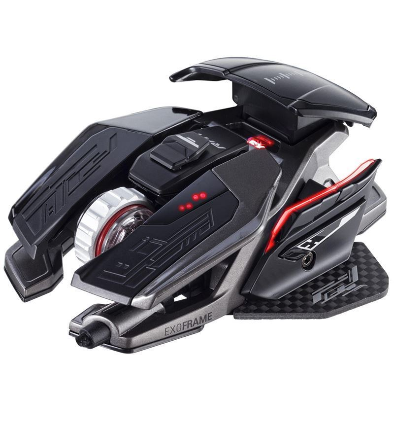 Mad Catz R.A.T. Pro X3 16,000 DPI Optical Mouse — Black