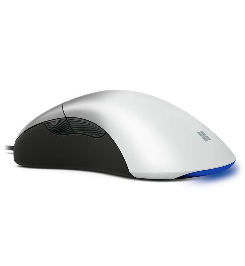 Microsoft Pro Intellimouse White Shadow 16,000 DPI Optical Mouse (NGX-00002)