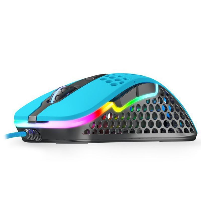 Xtrfy M4 RGB 69g Ultralight Right-Handed Gaming Mouse - Miami Blue
