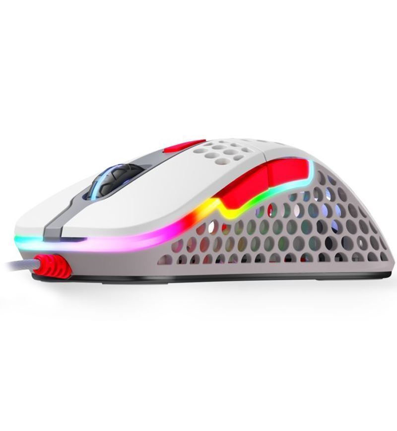 Xtrfy M4 RGB 69g Ultralight Right-Handed Gaming Mouse - Retro
