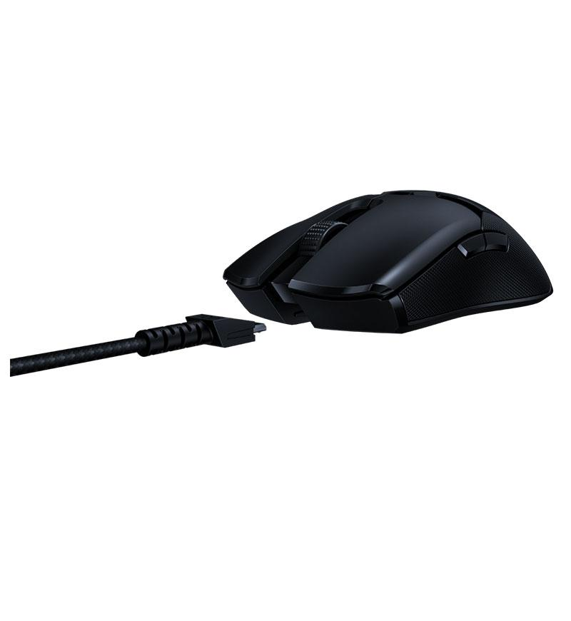 Angle view 7 of Razer Viper Ultimate Ambidextrous 20,000 DPI Optical Wireless Mouse