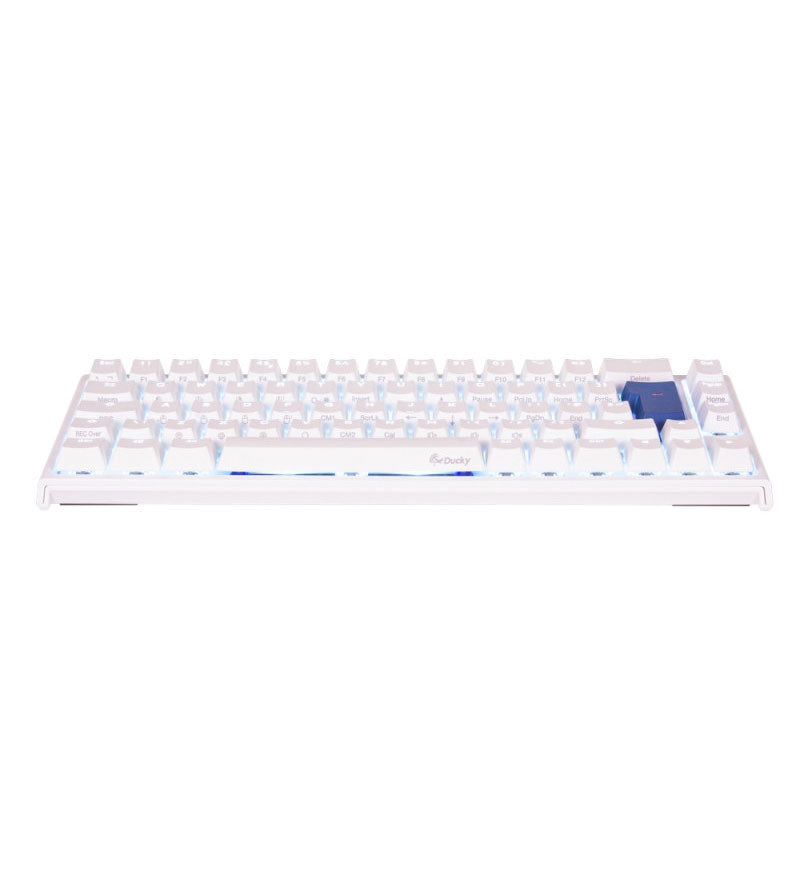 Ducky One 2 SF Pure White RGB 65% Mechanical Keyboard - Cherry MX Speed Silver Switches