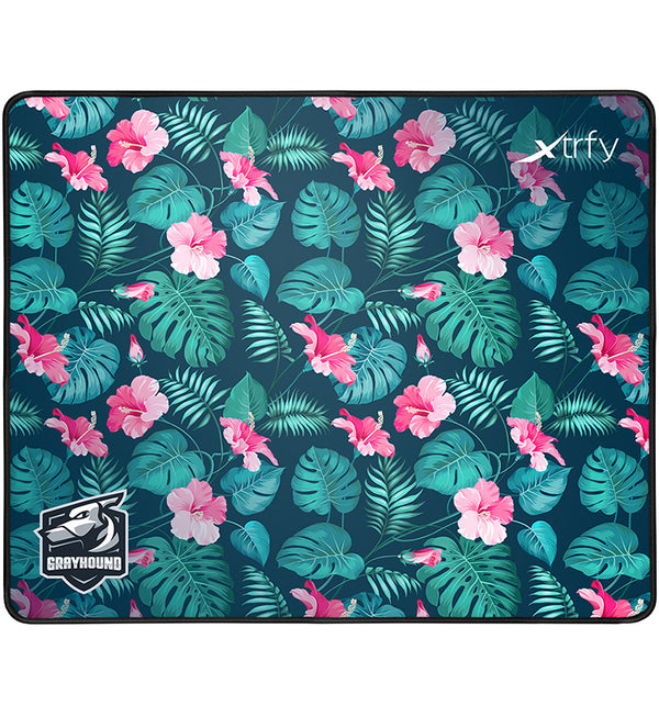 Xtrfy GP1 Grayhound Tropical Gaming Mouse Pad — Large