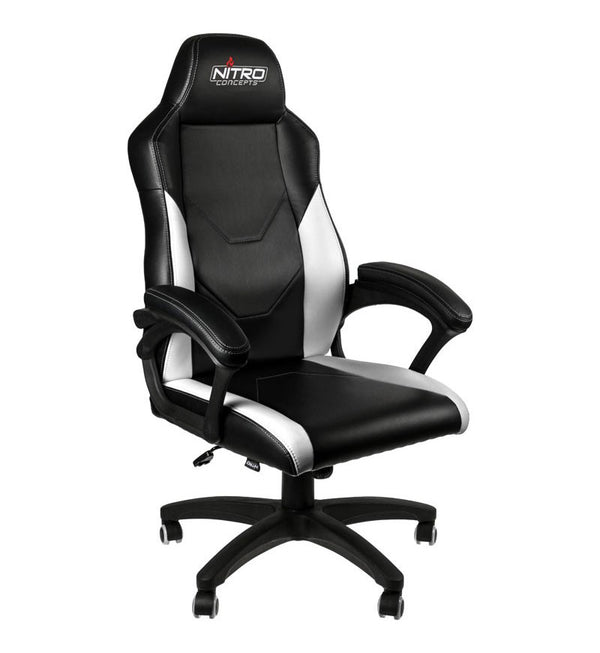 Nitro Concepts C100 Chair — Black/White