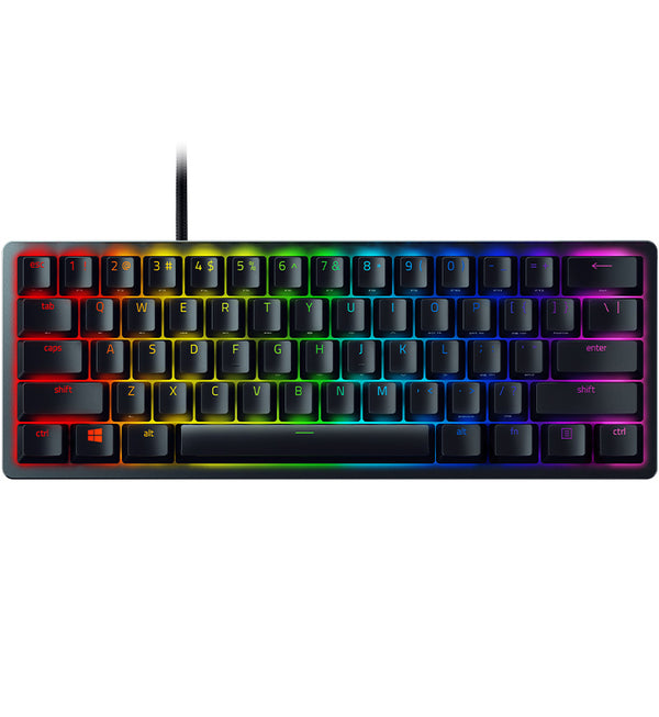 Razer Huntsman Mini 60% Mechanical Keyboard - Razer Red Opto-Mechanical Switches