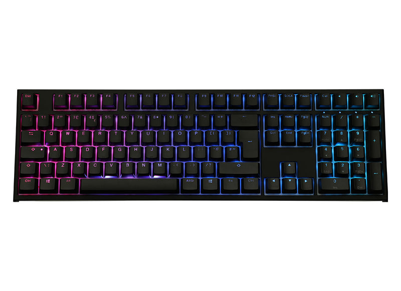 Ducky One 2 RGB Mechanical Keyboard - Cherry MX Speed Silver Switches