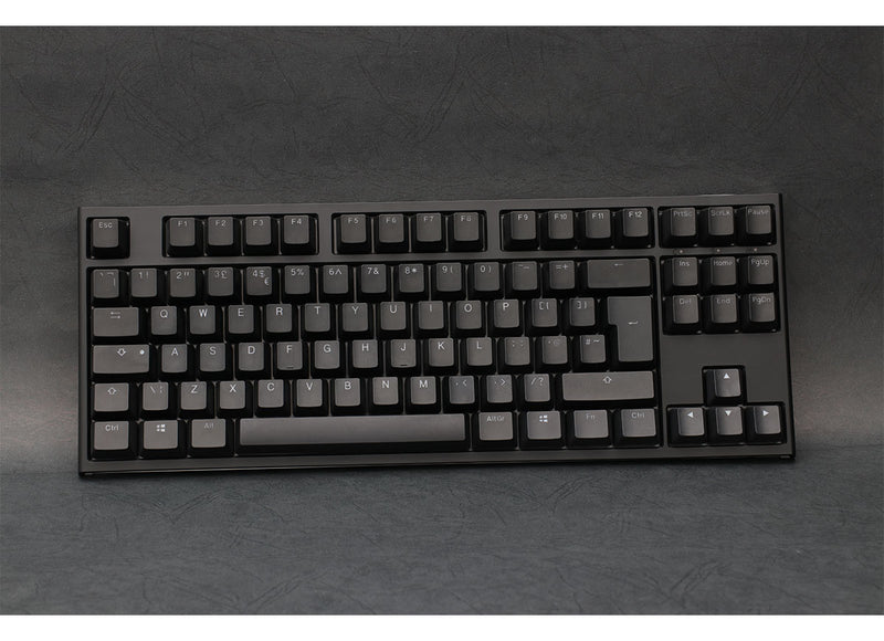 Ducky One 2 RGB TKL Mechanical Keyboard - Cherry MX Silent Red Switches