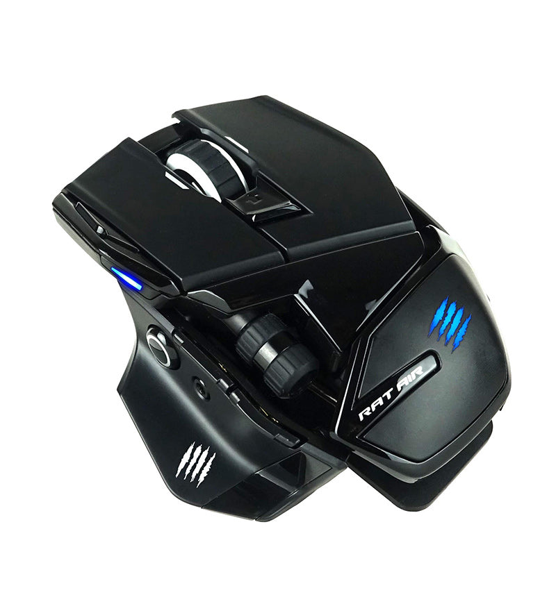 Mad Catz R.A.T. AIR Wireless Gaming Mouse + detachable RGB Mousepad Bundle