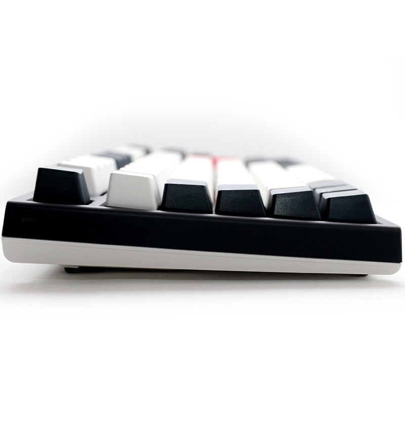 Ducky One 2 TKL Tuxedo Non-Backlit Mechanical Keyboard - Cherry MX Silent Red Switches