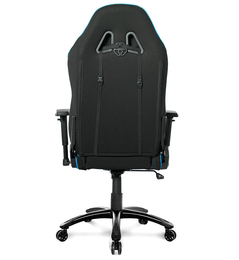 AKRacing Core Series EX Wide SE Fabric Gaming Chair — Black/Blue
