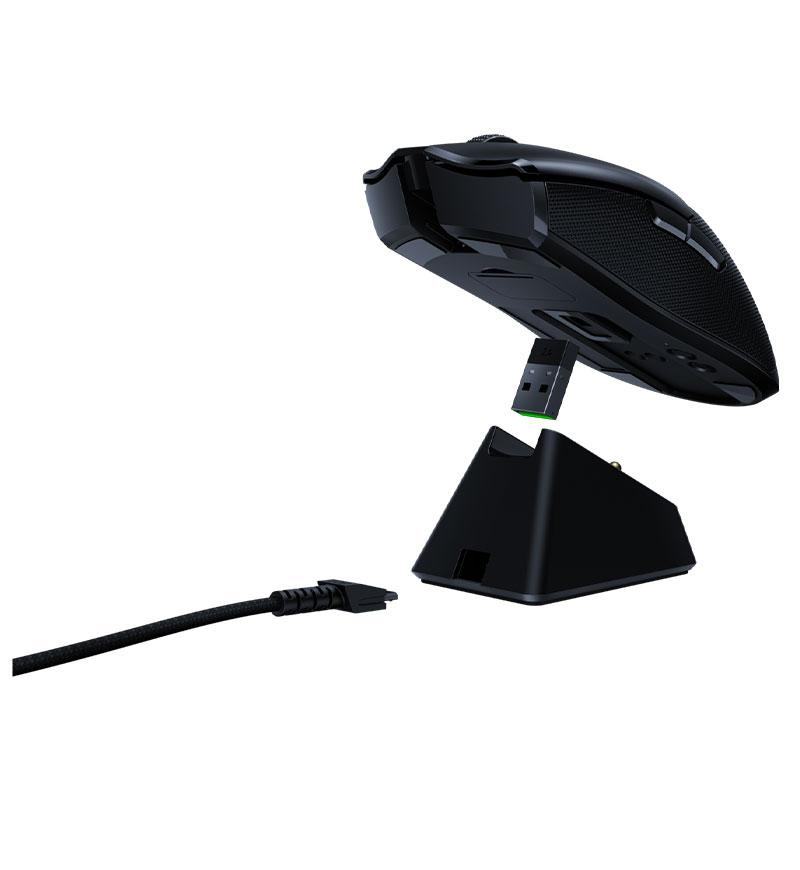 Angle view 5 of Razer Viper Ultimate Ambidextrous 20,000 DPI Optical Wireless Mouse