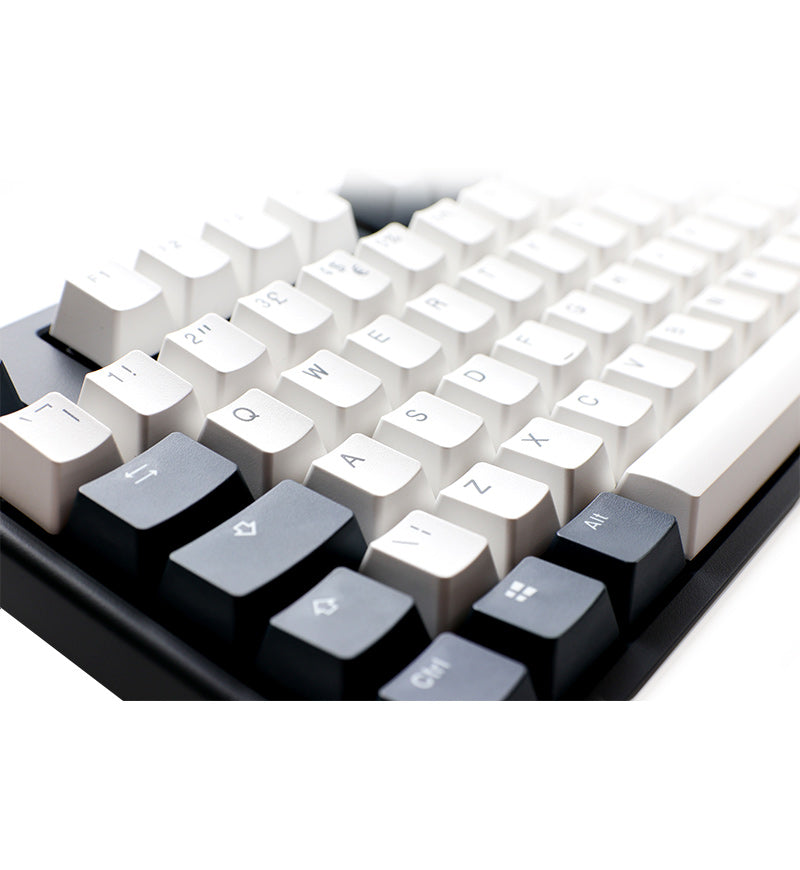 Ducky One 2 Tuxedo Non-Backlit Mechanical Keyboard - Cherry MX Speed Silver Switches