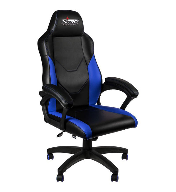 Nitro Concepts C100 Chair — Black/Blue