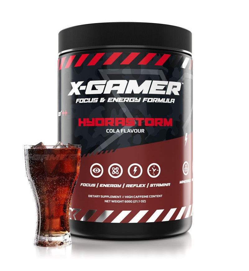 X-Gamer X-Tubz Hydrastorm (600g / 60 servings)