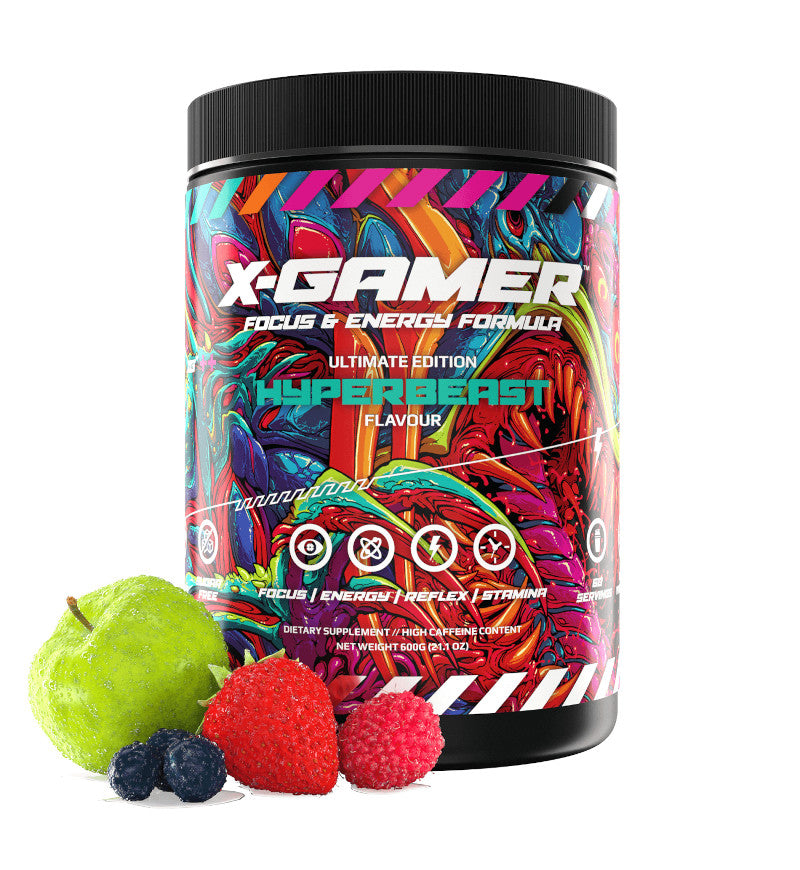 X-Gamer X-Tubz Hyperbeast (600g / 60 servings)