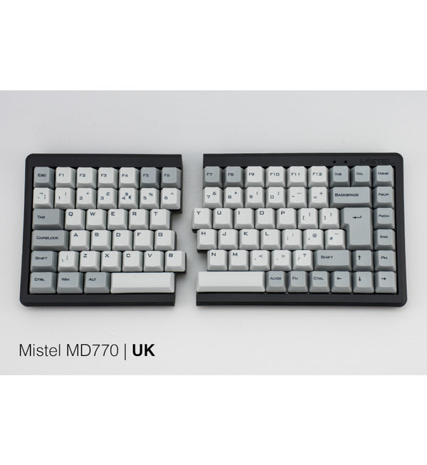 Mistel Barocco MD770 RGB Split Keyboard - Cherry MX Red Switches