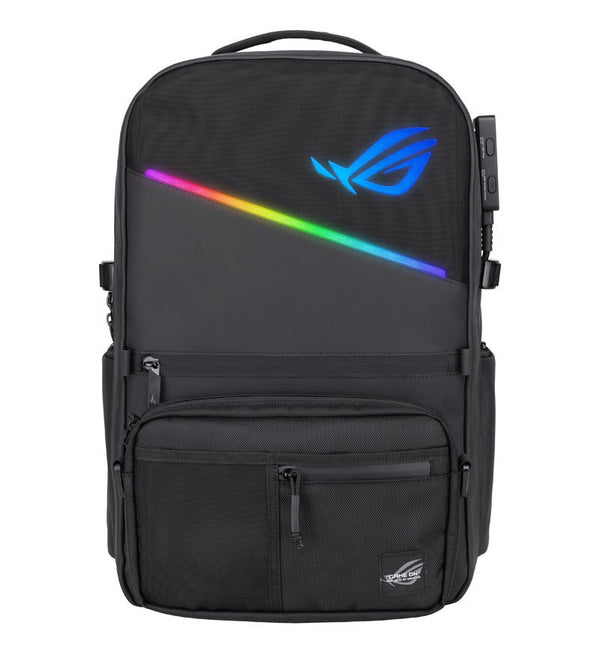 "Asus ROG Ranger BP3703 RGB Gaming Backpack - Up to 15.6"" Notebook - Black"