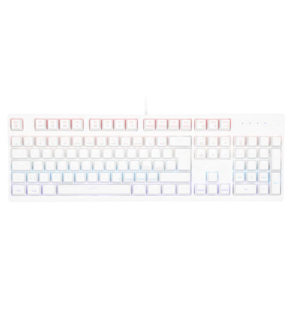 Xtrfy K2 RGB White Mechanical Keyboard — Kailh Red Switches