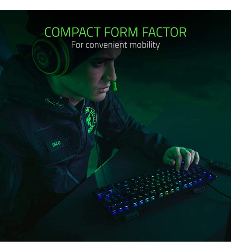 Razer Huntsman Tournament TKL Mechanical Keyboard - Razer Linear Optical Switches
