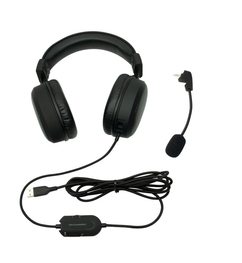 Tecware Q5 7.1 Virtual Surround Headset - USB