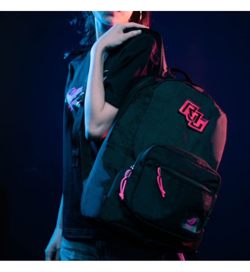 "Asus ROG Ranger BP1503 Gaming Laptop Backpack - Up to 15.6"" Notebook - Electro Punk"