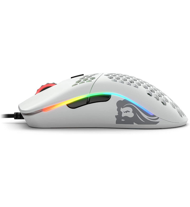 Glorious Model O- Gaming Mouse - Matte White