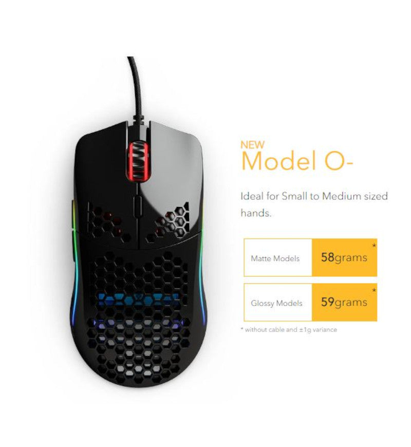 Glorious Model O- Gaming Mouse - Matte Black
