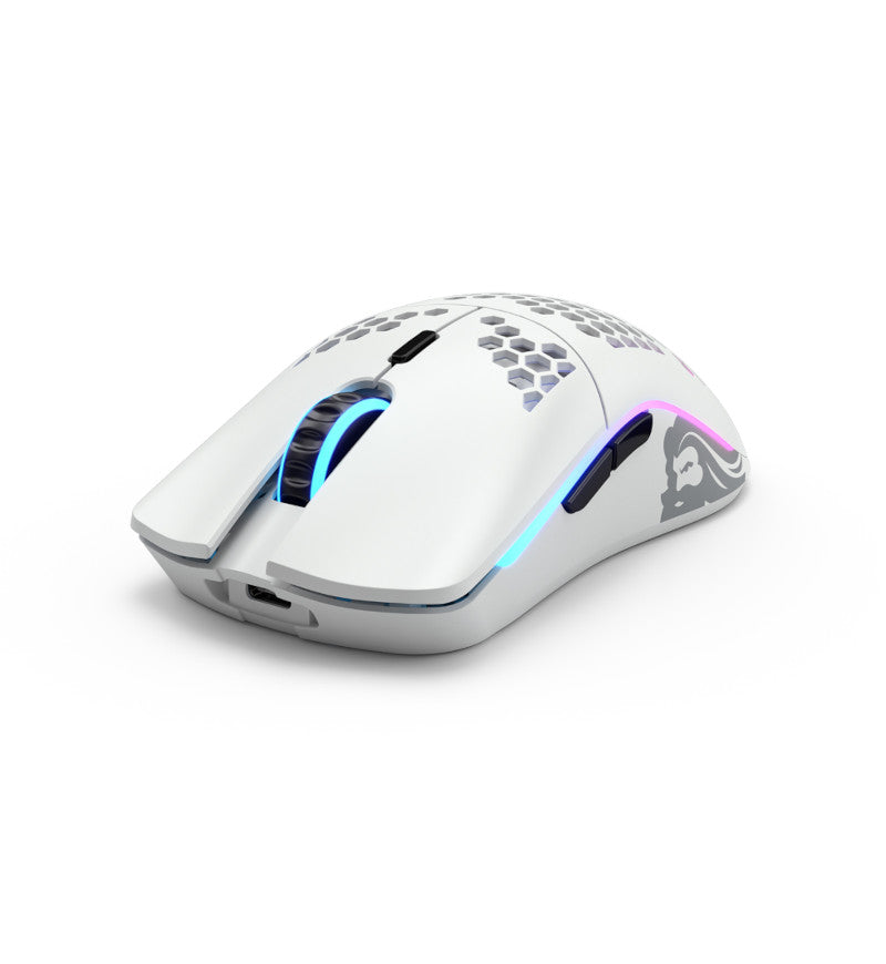 Glorious Model O Wireless Gaming Mouse - Matte White