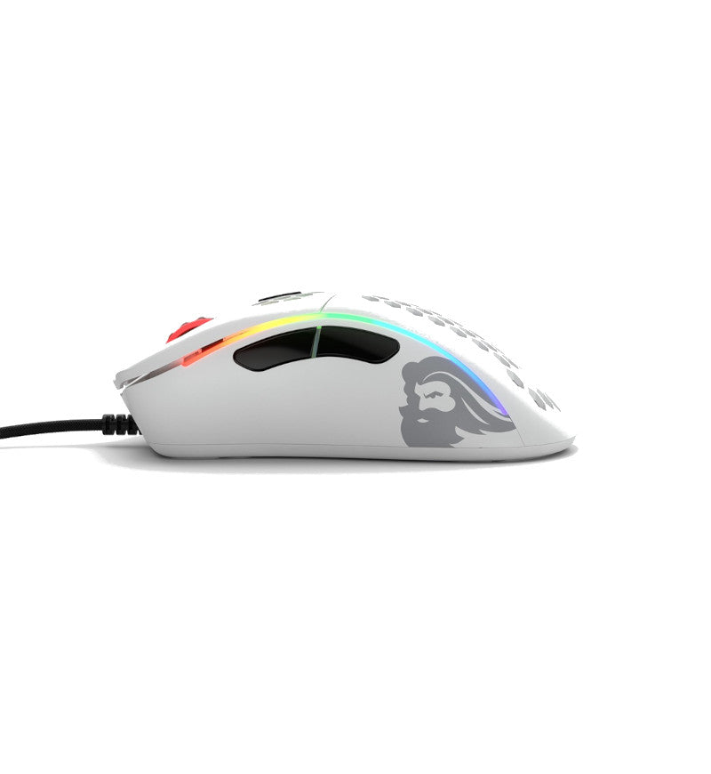 Glorious Model D- Gaming Mouse - Matte White