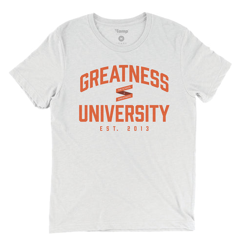 White Greatness University Tee